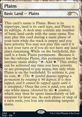 Secret Lair: Plains (254 - Foil)