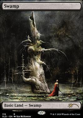 Secret Lair: Swamp (119 - Foil)