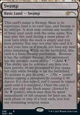 Secret Lair: Swamp (256 - Foil)