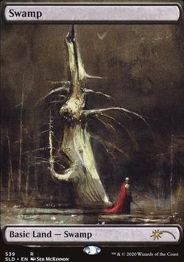 Secret Lair: Swamp (539 - Non-Foil)