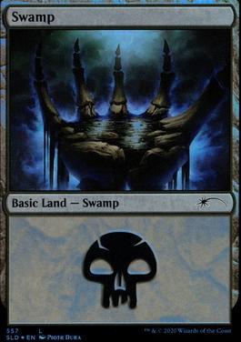 Secret Lair: Swamp (557 - Foil)