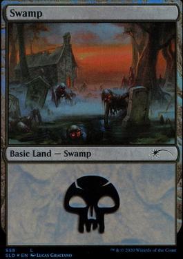 Secret Lair: Swamp (558 - Foil)