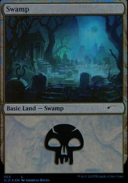 Secret Lair: Swamp (563 - Foil)