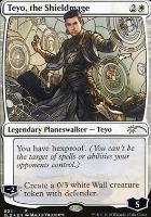 Secret Lair: Teyo, the Shieldmage (Foil)