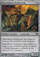 Shadowmoor Foil: Blazethorn Scarecrow