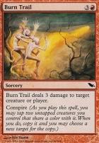 Shadowmoor Foil: Burn Trail