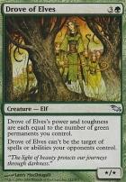 Shadowmoor Foil: Drove of Elves