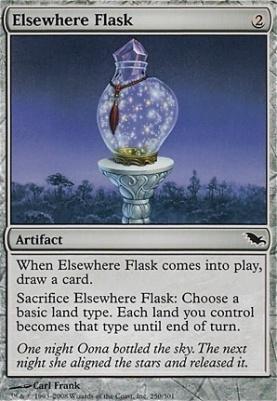 Shadowmoor: Elsewhere Flask
