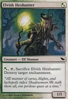 Shadowmoor Foil: Elvish Hexhunter