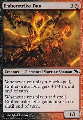 Shadowmoor Foil: Emberstrike Duo