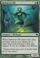 Shadowmoor Foil: Farhaven Elf