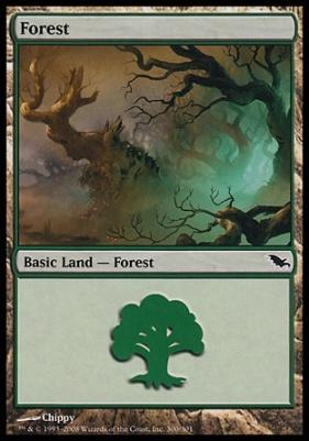Shadowmoor: Forest (300 C)