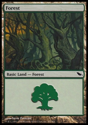 Shadowmoor: Forest (301 D)