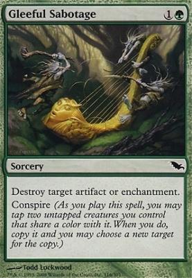 Shadowmoor: Gleeful Sabotage