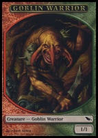 Shadowmoor: Goblin Warrior Token
