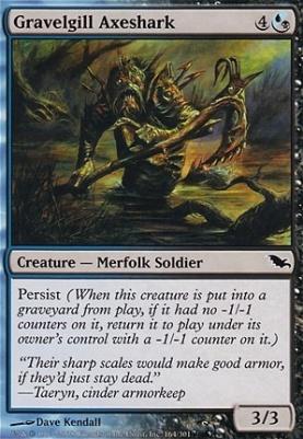 Shadowmoor Foil: Gravelgill Axeshark