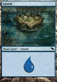 Shadowmoor: Island (286 A)