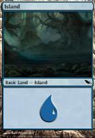 Shadowmoor: Island (289 D)