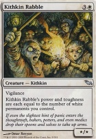 Shadowmoor Foil: Kithkin Rabble