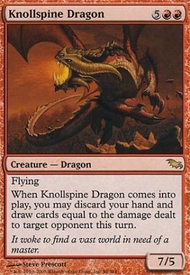 Shadowmoor: Knollspine Dragon