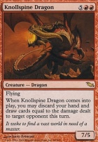 Shadowmoor: Knollspine Dragon