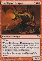 Shadowmoor Foil: Knollspine Dragon