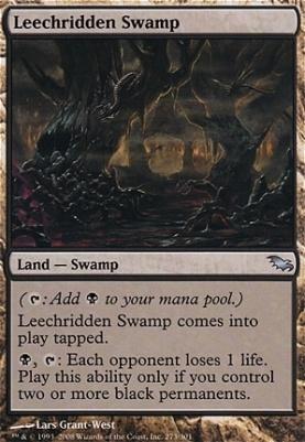 Shadowmoor: Leechridden Swamp