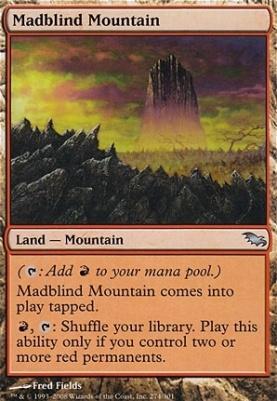 Shadowmoor: Madblind Mountain