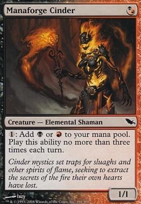 Shadowmoor Foil: Manaforge Cinder