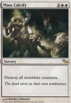 Shadowmoor Foil: Mass Calcify