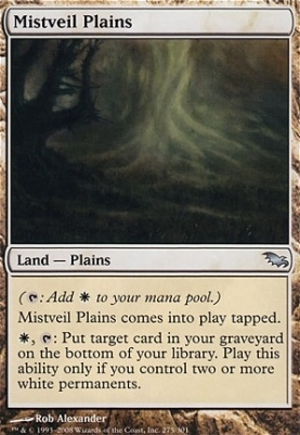 Shadowmoor Foil: Mistveil Plains