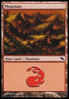 Shadowmoor: Mountain (294 A)