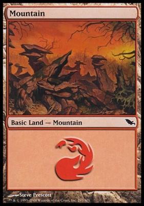 Shadowmoor: Mountain (297 D)