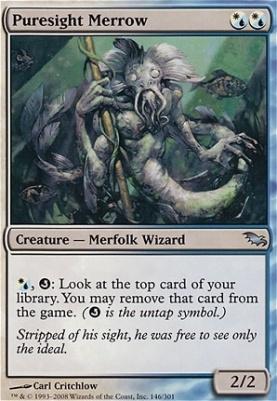 Shadowmoor Foil: Puresight Merrow