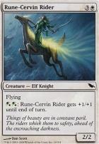 Shadowmoor: Rune-Cervin Rider