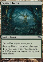 Shadowmoor Foil: Sapseep Forest