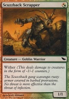 Shadowmoor: Scuzzback Scrapper