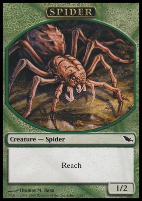 Shadowmoor: Spider Token