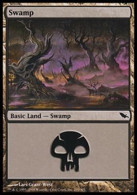 Shadowmoor: Swamp (290 A)
