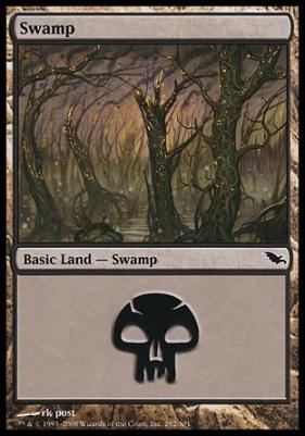 Shadowmoor: Swamp (292 C)