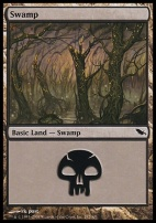 Shadowmoor: Swamp (292 C)