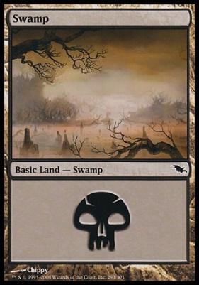 Shadowmoor: Swamp (293 D)