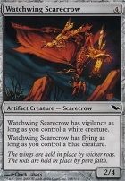 Shadowmoor: Watchwing Scarecrow