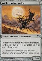 Shadowmoor Foil: Wicker Warcrawler