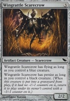 Shadowmoor Foil: Wingrattle Scarecrow