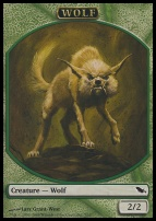 Shadowmoor: Wolf Token