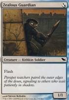 Shadowmoor Foil: Zealous Guardian