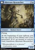 Shadows Over Innistrad Foil: Aberrant Researcher