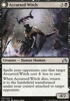 Shadows Over Innistrad Foil: Accursed Witch