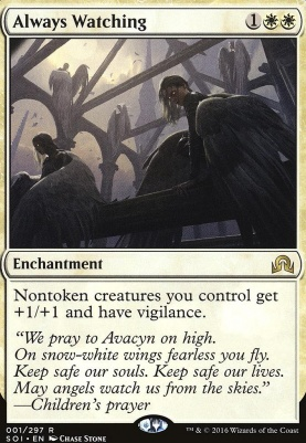 Shadows Over Innistrad Foil: Always Watching